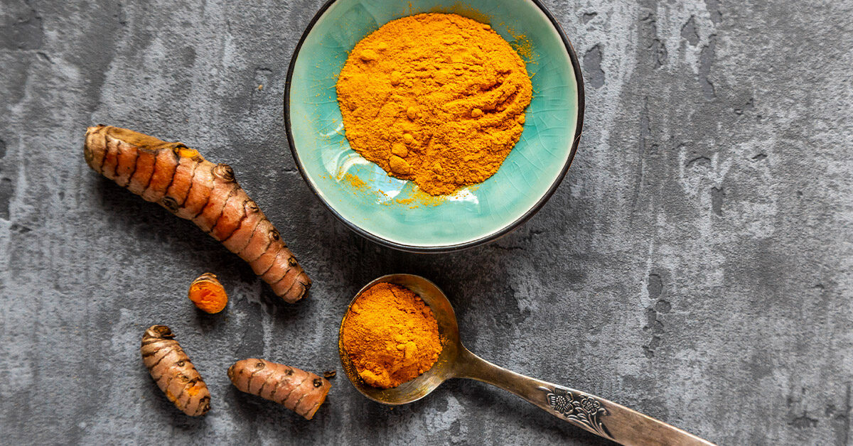 Tongue Cleaning with Turmeric